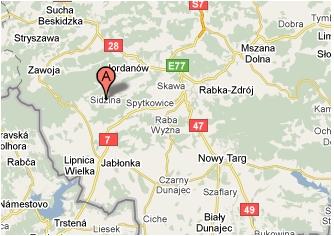 sidzina_mapa
