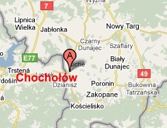 chocholow_mapa