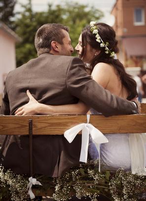 Bryczką na ślub