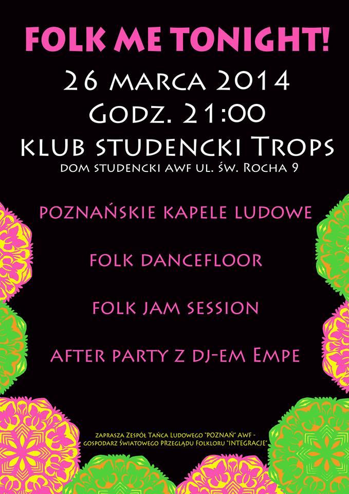Poznań Folk Me Tonight