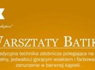 Warsztaty batiku w Krakowie