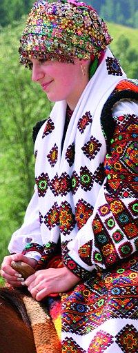 Hucułka - karpacki haft krzyżykowy