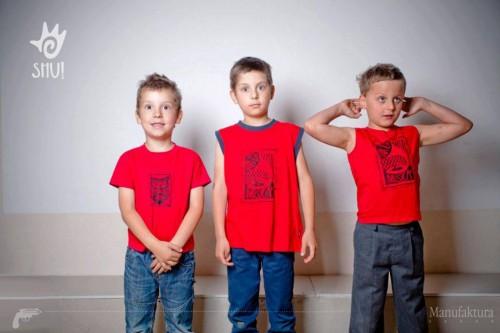 Ruuzga - koszulki folk dla dzieci