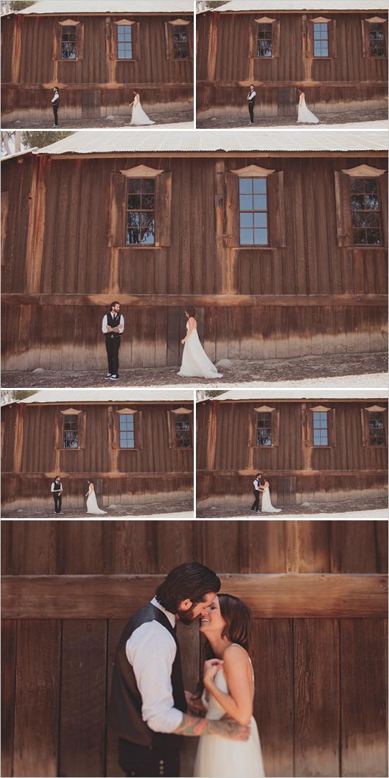 Ślub w stylu boho - sesja ( www.weddingchicks.com)