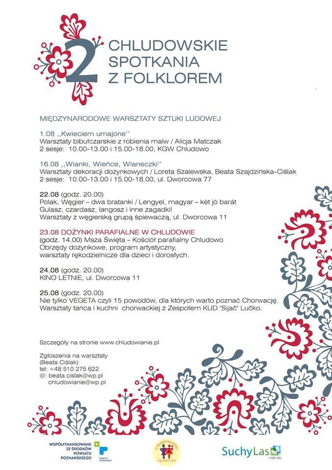 chludowskie spotkania z folklorem 2014