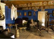 Dekoracje wnętrza wiejskiej izby
