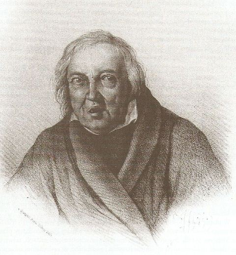Łukasz Gołębiowski - litografia (1849)