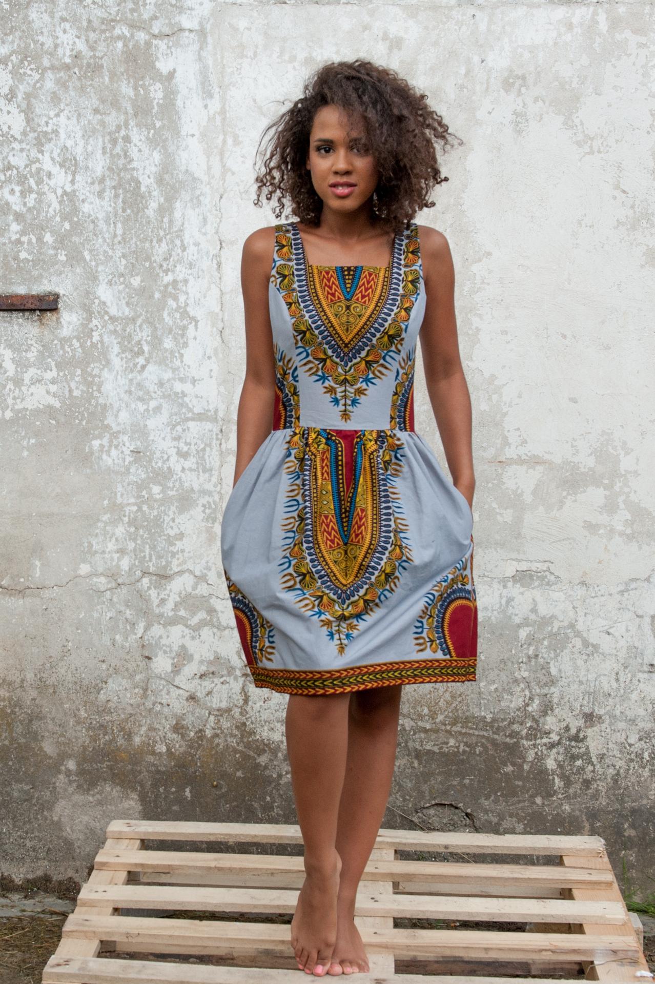 Kokoworld - etniczna sukienka