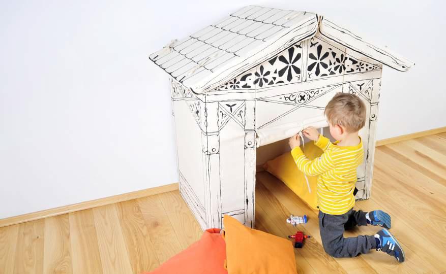 Domek dla dzieci - Opolski Dizajn