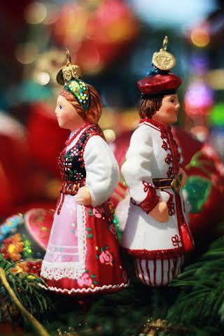 Bombka - Krakowiak i Krakowianka