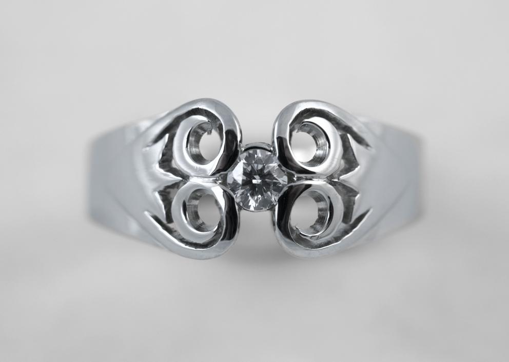 Pracownia WW - Pierścień z parzenicami