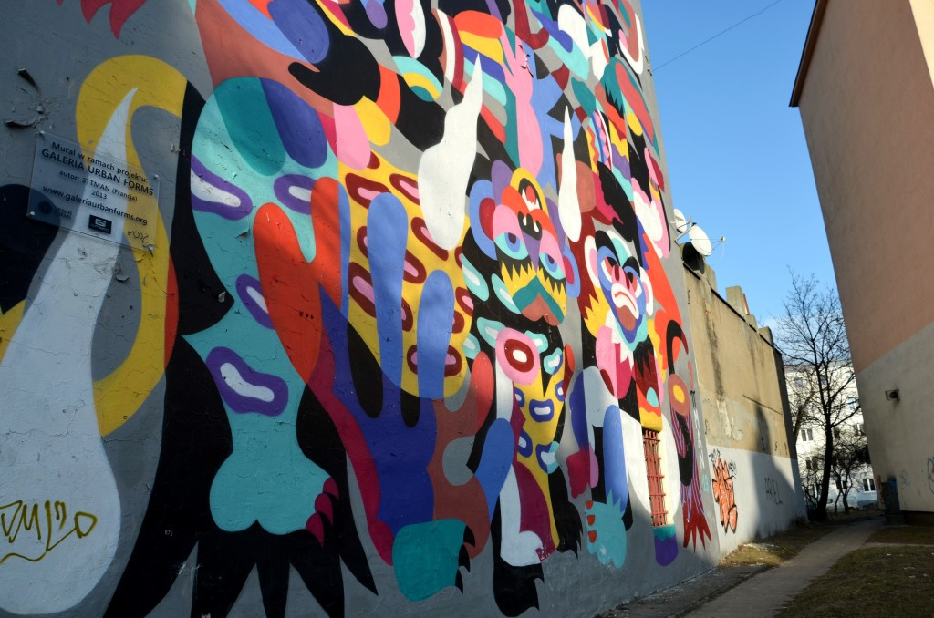 3ttman, mural w Łodzi (fot. M. Armata)