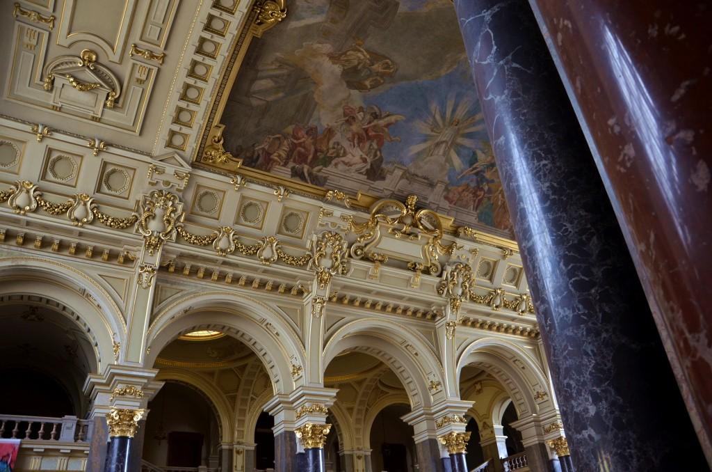 Wnętrze Muzeum Etnograficznego w Budapeszcie