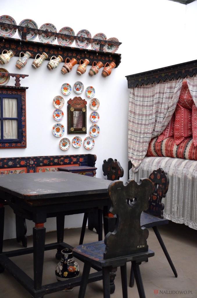 Wnętrze izby węgierskiej