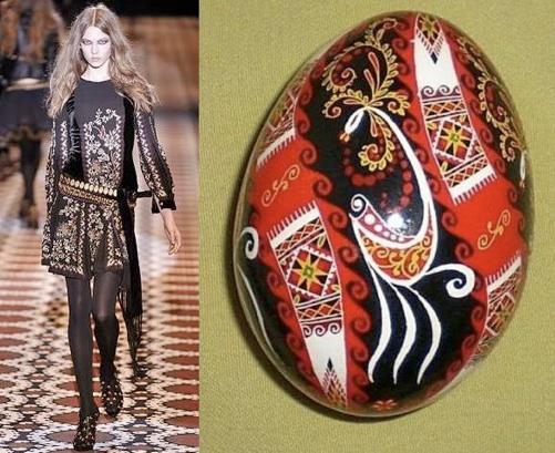 Kolekcja Gucci 2008, Pysanky (fot. www.pysanky.info)