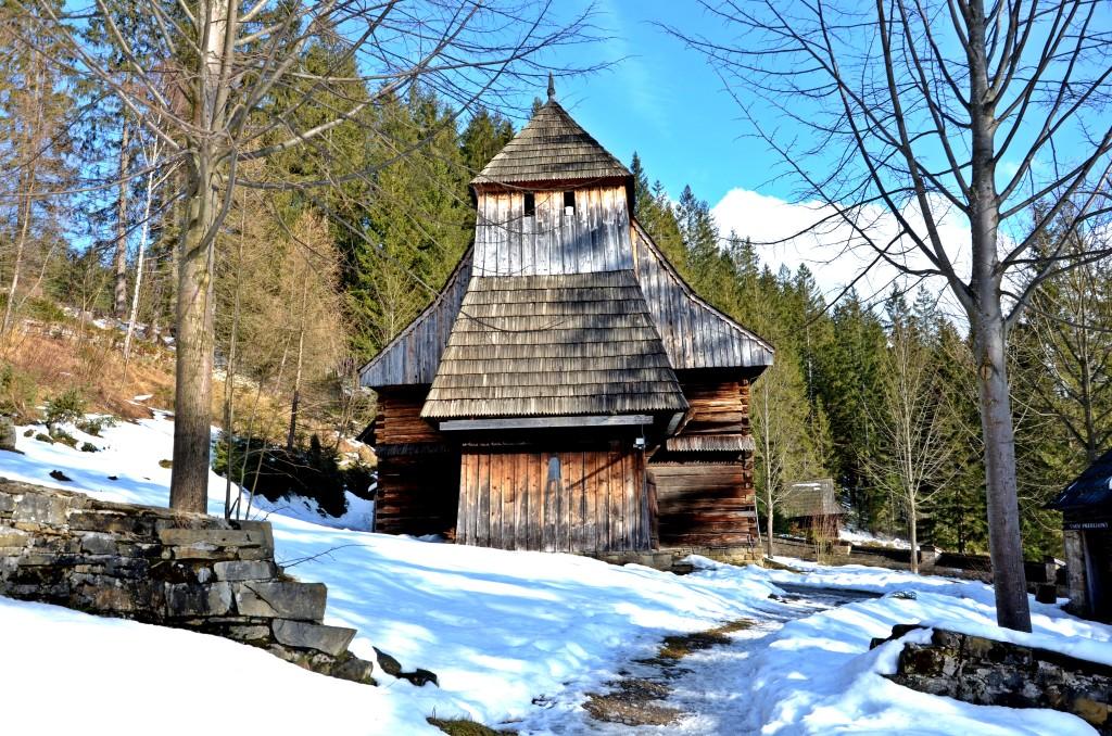 Muzeum Wsi Orawskiej w Zubercu, kościół św. Elżbiety (fot. M. Armata)
