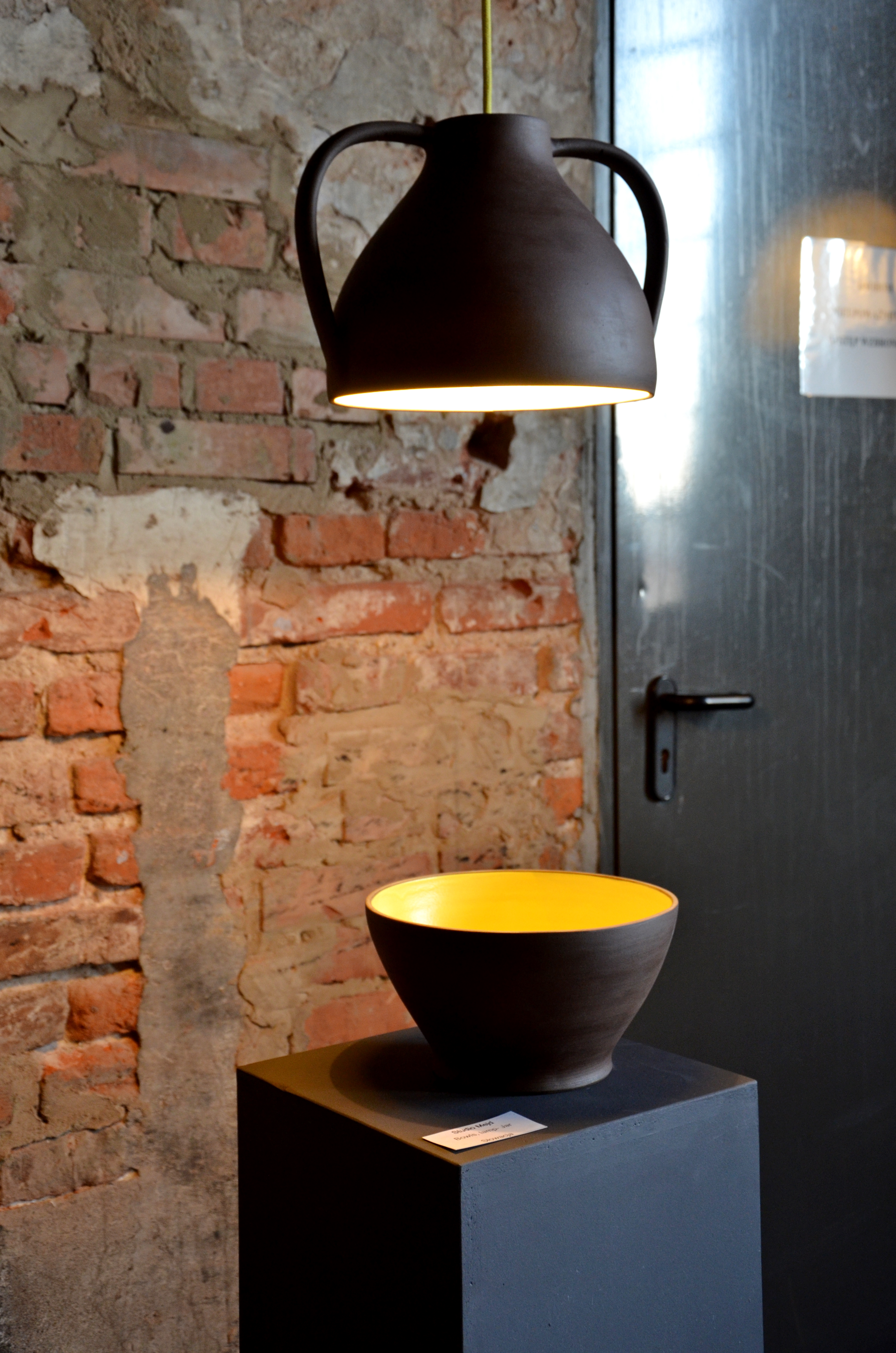 Bowls lamp - jar, Studio Mejd  (fot. M. Armata)