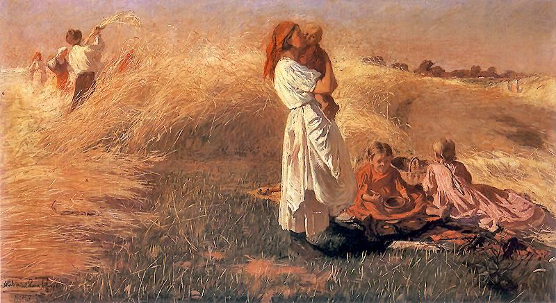"""Włodzimierz Tetmajer """"Żniwa"""", 1902"""