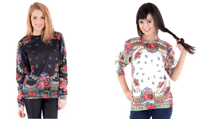 Bluzy zdobione wzorami z chust ludowych, loveitshop.pl