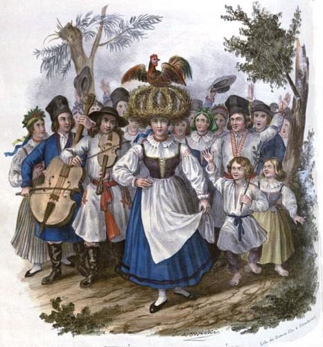Okrężne w Sandomierskiem. 1841 (źródło: pl.wikipedia.org)