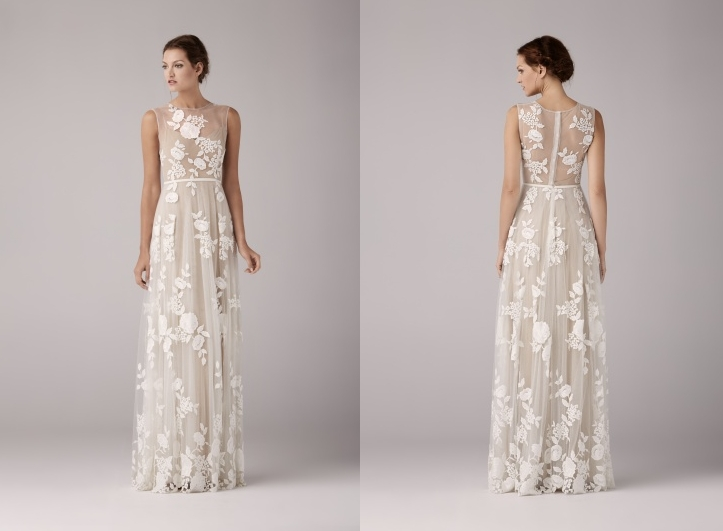 Model: Arya Nude, Anna Kara - rustykalna suknia ślubna