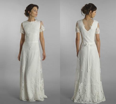 Model: Fengari, Moons Varsovie - rustykalna suknia ślubna