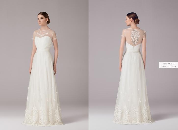 Model: Georgia, Anna Kara - rustykalna suknia ślubna