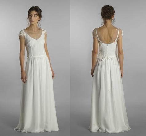 Model: Ilargia, Moons Varsovie - rustykalna suknia ślubna