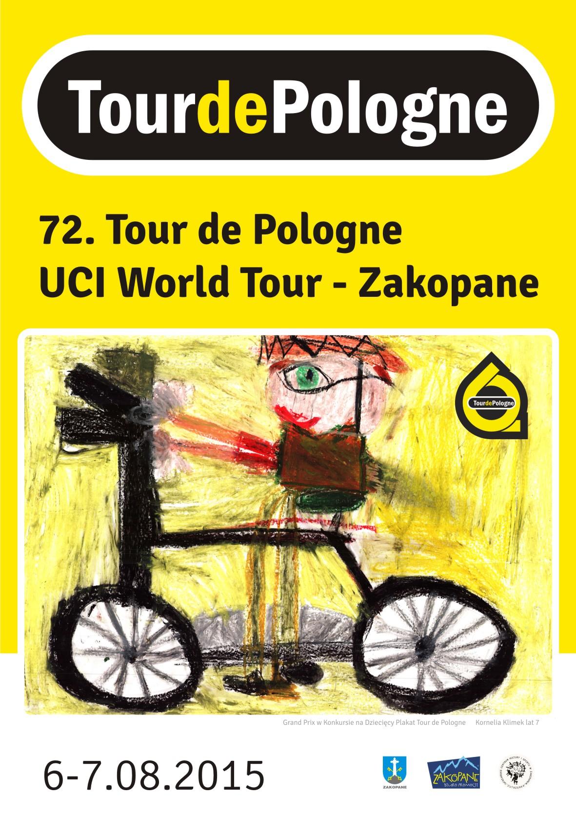 Konkurs na plakat dziecięcy Tour de Pologne rozstrzygnięty! Plakat