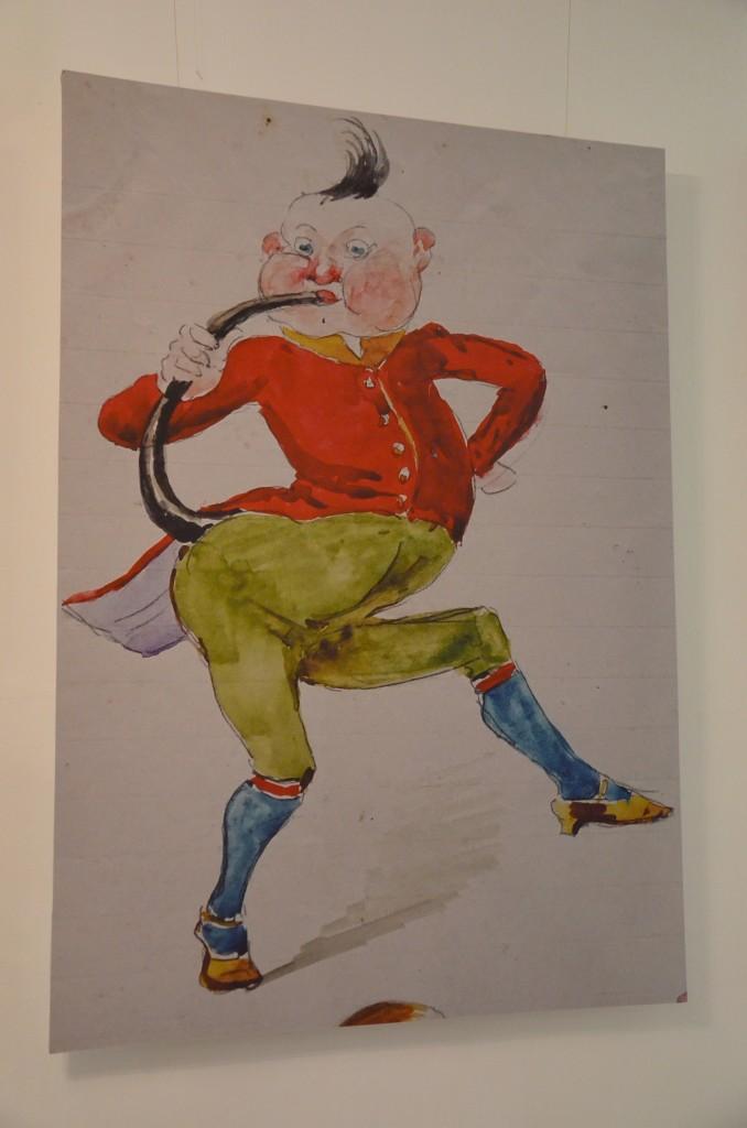 Ilustracja Stanisława Witkiewicza stworzona dla syna Stasia (Witkacego), fot. M. Armata