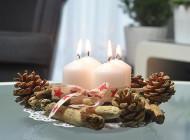 Jak zrobić świecznik adwentowy? DIY